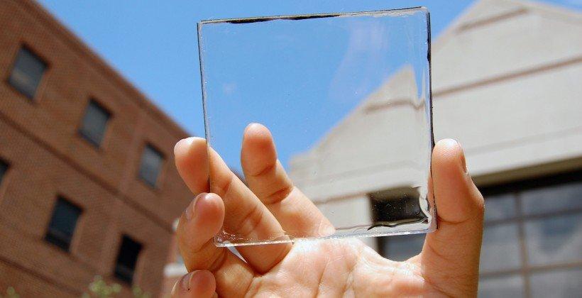 ついに登場!ガラスのように透明なソーラーパネルが開発。スマホに採用期待