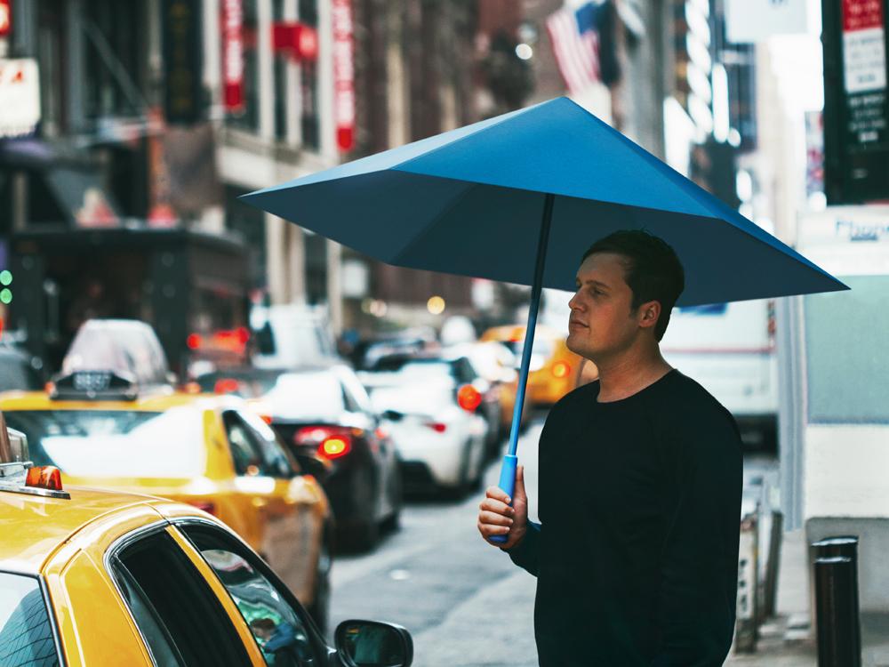 もう壊れない!折り紙の原理を利用した「骨なし傘」が画期的 もう壊れない!折り紙の原理を利用した「