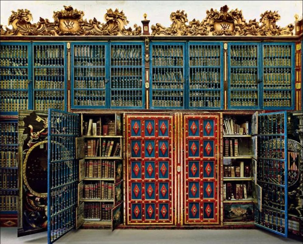 エル・エスコリアル修道院図書館(スペイン) マドリッド郊外のサン・ロイ... 必見の価値あり!死