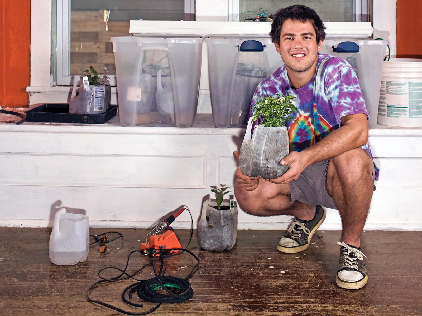 Arduinoを「庭師化」した製品『Garduino』