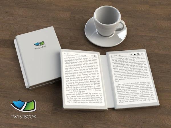 本物の書籍のような感覚で読める電子書籍リーダー『TwistBook』