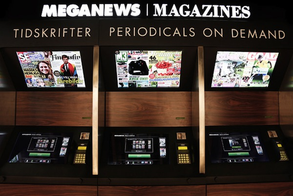 KIOSK革命!駅構内に新聞と雑誌をオンデマンド印刷する自販機が登場
