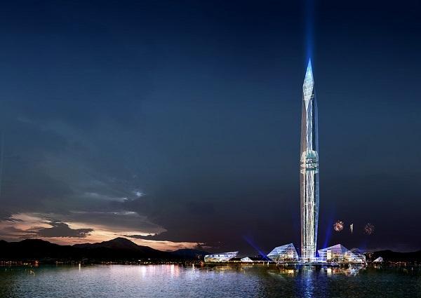 世界初!!見えないビル『Tower Infinity』が建設開始【韓国・ソウル】